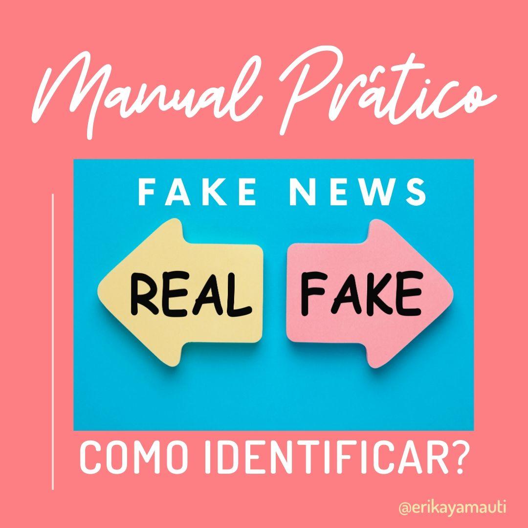 Quem espalha fake news, jornalista não é
